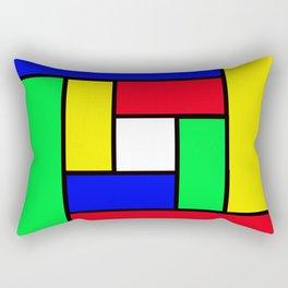 Game of colours Rectangular Pillow