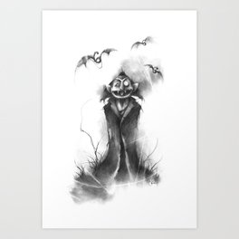 The Count von Count Art Print