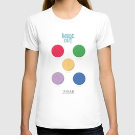 Inside Out - Minimal Movie Poster, animated movie, T-shirt