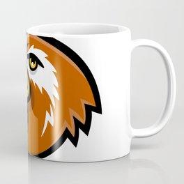 Laysan Duck Head Mascot Coffee Mug