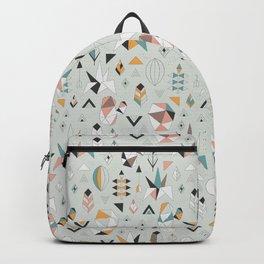 Geometric boho succulents Backpack