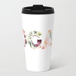 Flowery Language: I Don't Give A Fuck (IDGAF) Travel Mug