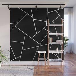 Black White Geometric Glam #2 #geo #decor #art #society6 Wall Mural