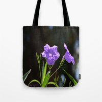 alone Tote Bags featuring Alone by BeachStudio