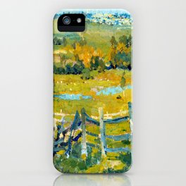 E. Phillips Fox Heidelberg iPhone Case