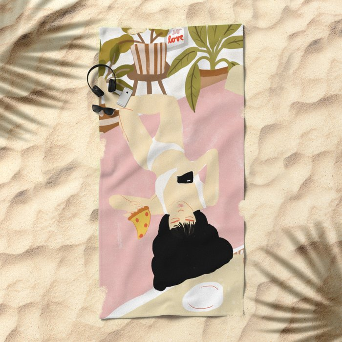 This is life Beach Towel