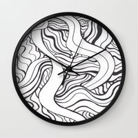 dark souls Wall Clocks featuring souls by Elle Major