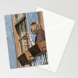 Las Palmas Balcony Stationery Cards