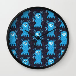 Undiscovered Sea Creatures Wall Clock