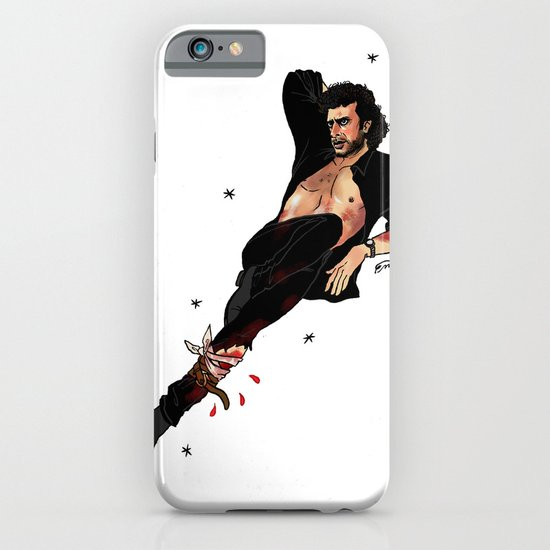 Jurassic Park Pin-Ups ~ Dr. Ian Malcolm iPhone & iPod Case