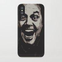 jack nicholson iPhone & iPod Cases featuring jack nicholson by zarna
