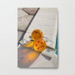 Dragon|Money. Metal Print