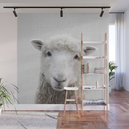 Sheep - Colorful Wall Mural