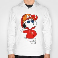 snoopy Hoodies featuring The Modern Day Cool Snoopy by XB Designs