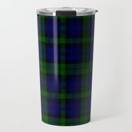 "CAMPBELL CLAN  ""BLACK WATCH"" SCOTTISH  TARTAN DESIGN Travel Mug"