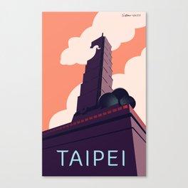 Taipei Canvas Print