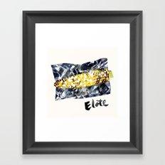 Elote | 100 Days of Cookbook Spots Framed Art Print