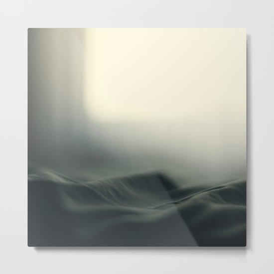 a sea of bed covers ...  Metal Print