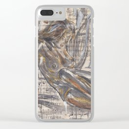 God created Woman Clear iPhone Case