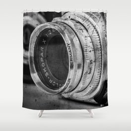 Classic Lenses Shower Curtain