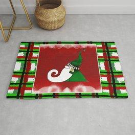 Jingle Gnome in Green Rug