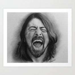 Dave |Graphite Pencil Art Print