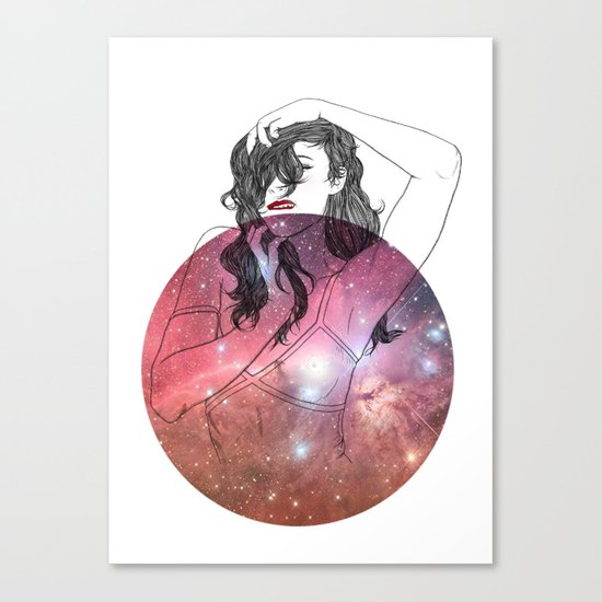 We are All Made of Stardust #2 Canvas Print