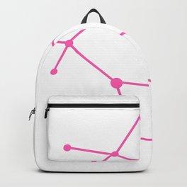 Gemini (Pink & White) Backpack