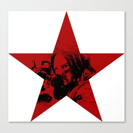 Winter Soldier Star Canvas Print