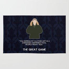 The Great Game - John Watson Rug