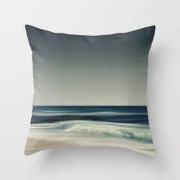 Cristal Surf Throw Pillow
