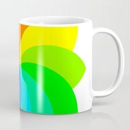 12 Petal Flower of Footballs Coffee Mug