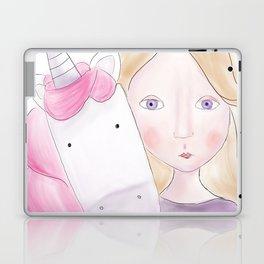 Unicorn love Laptop & iPad Skin
