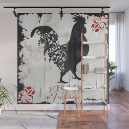 French Farms Rooster Wall Mural