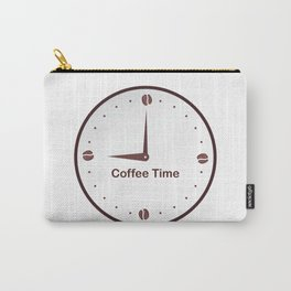 It is the Coffee time - I love Coffee Carry-All Pouch