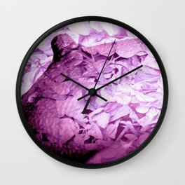 Orchid Floral Breasts Wall Clock