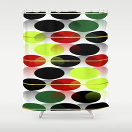 Bright colors of  autumn... Shower Curtain