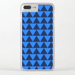 Bermuda Triangle Clear iPhone Case