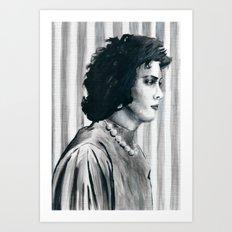 Transvestite Art Print