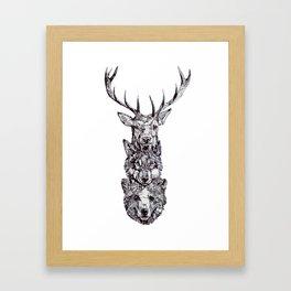 For a Friend Framed Art Print