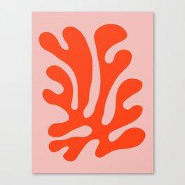 Tropical plants XVI Canvas Print
