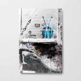 LADYBUG no4 Metal Print