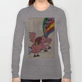 Make More Art Long Sleeve T-shirt