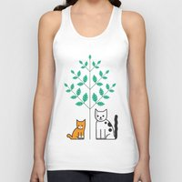 couple Tank Tops featuring couple by morsomdesign