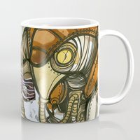 bioshock Mugs featuring Bioshock Tea by Dara Gold