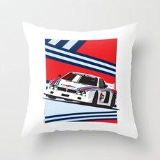 Lancia Beta Montecarlo Throw Pillow