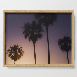 Sunset Palms Serving Tray
