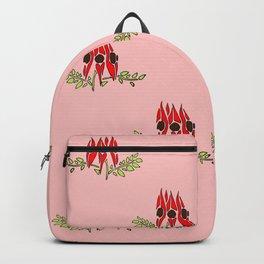 Sturt Desert Pea Backpack