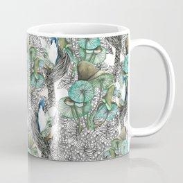Mushroom Feather Girl Coffee Mug