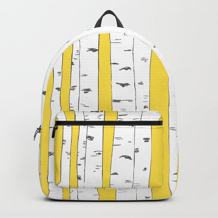 Aspen Forest - Yellow Rucksack